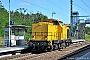 "Adtranz 72710 - DB Bahnbau ""293 011-3"" 17.07.2020 - RoßlauRudi Lautenbach"