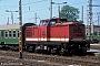 """LEW 11921 - DR """"110 083-3"""" 01.05.1990 - CottbusArchiv Werner Brutzer"""
