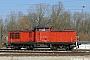 "LEW 12405 - DB Schenker ""298 104-1"" 02.04.2009 - WismarAndreas Görs"