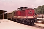"LEW 12508 - DR ""110 226-8"" 24.07.1987 - Aue (Sachsen)Michael Uhren"