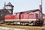 """LEW 12519 - DR """"112 237-3"""" 13.03.1983 - Nordhausen, BahnbetriebswerkHartmut Michler"""
