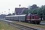"LEW 12889 - DR ""110 380-3"" 16.08.1990 - Zinnowitz (Usedom), BahnhofIngmar Weidig"