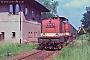 """LEW 13486 - DR """"112 447-8"""" 03.07.1991 - Eberswalde, Abzweigstelle ForsthausAndreas Wegemund"""
