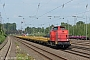 """LEW 13489 - EBM Cargo """"203 115-1"""" 25.06.2015 - Düsseldorf-RathWolfgang Platz"""