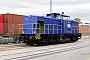 """LEW 13500 - Rhenus Rail """"104"""" 15.11.2015 - Mannheim, HafengebietErnst Lauer"""