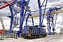 """LEW 13500 - Rhenus Rail """"104"""" 25.06.2017 - Mannheim, HafengebietErnst Lauer"""