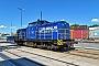 """LEW 13500 - Rhenus Rail """"104"""" 06.08.2017 - Mannheim, HafengebietErnst Lauer"""
