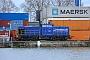 """LEW 13500 - Rhenus Rail """"104"""" 07.01.2018 - Mannheim, HafengebietErnst Lauer"""