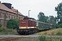 "LEW 13503 - DR ""114 464-1"" 19.08.1990 - Gunsleben Ingmar Weidig"