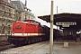 """LEW 13549 - DR """"110 510-5"""" 19.03.1983 - NeubrandenburgClaus Tiedemann"""