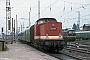 "LEW 13550 - DR ""112 511-1"" 17.08.1990 - Rostock, HauptbahnhofIngmar Weidig"