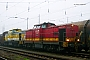 """LEW 13887 - A.V.G. """"203 004-7"""" 02.11.2008 - Magdeburg-Rothensee Helmut Sangmeister"""