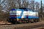 """LEW 13896 - HGB """"203 214-2"""" 16.03.2012 - Mainz-BischofsheimKurt Sattig"""