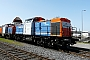 """LEW 13955 - NBE RAIL """"203 160-7"""" 10.04.2011 - Aschaffenburg, HafenbahnRalf Lauer"""