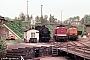 "LEW 14444 - DR ""110 743-2"" 30.05.1987 - Aue, BahnbetriebswerkMichael Uhren"
