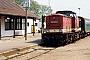 """LEW 14849 - DR """"201 792-9"""" __.__.1993 - Zinnowitz (Usedom), BahnhofRolf Stindt"""