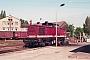 """LEW 15074 - DR """"110 802-6"""" 13.05.1991 - Stendal, ReichsbahnausbesserungswerkMichael Uhren"""