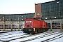"""LEW 15077 - Railion """"204 805-6"""" 15.01.2009 - Saalfeld (Saale)Peter Wegner"""