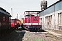 "LEW 15084 - DR ""110 812-5"" 09.07.1988 - Seddin, BahnbetriebswerkMichael Uhren"