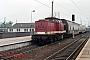 "LEW 15091 - DR ""112 819-8"" 15.05.1990 - Magdeburg, HauptbahnhofNowottnick (Archiv D. Bergau)"