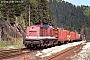 """LEW 15092 - DB Cargo """"204 820-5"""" 10.05.2001 - Lichtentanne (Thür)Swen Thunert"""