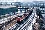 """LEW 15230 - DB Cargo """"204 845-2"""" 04.02.2001 - Saalfeld (Saale)Helmut Sangmeister"""