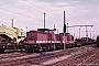 "LEW 16379 - DR ""110 885-1"" 22.06.1989 - Wustermark, RangierbahnhofMichael Uhren"