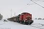 """LEW 16679 - DB Schenker """"298 302-1"""" 27.12.2010 - Landin (Uckermark)Maik Gentzmer"""