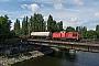 "LEW 17717 - DB Cargo ""298 328-6"" 01.07.2016 - Berlin-Köpenick, Spreebrücke SpindlersfeldSebastian Schrader"