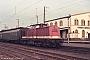 """LEW 9891 - DR """"110 003-1"""" 07.01.1991 - Lutherstadt-WittenbergMichael Uhren"""